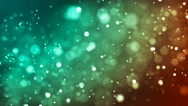 HD Loopable Background with nice white bokeh Stock Footage