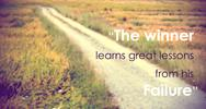 Inspirational quote on blurred background Stock Photos