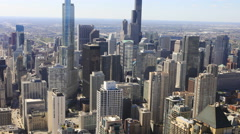 4K UltraHD Timelapse of the Chicago skyline Arkistovideo