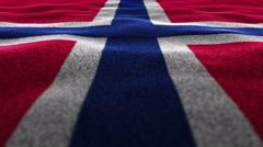 NORWAY, Textile Carpet Background, Still Camera, Loop, 4k Stock Footage