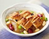 Simmered eel Stock Photos