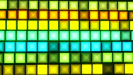 HD Loopable Background with nice sci fi leds Stock Footage