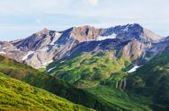 Mountains in Alaska Stock Photos