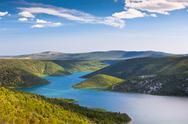 The Krka river, Croatia Stock Photos