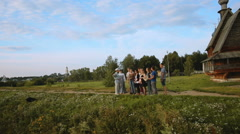 Travel to Suzdal. architecture of Suzdal Stock Footage