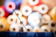 Detail of a needle Stock Photos