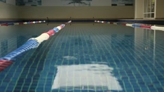View of the Swimming pool. Stock Footage