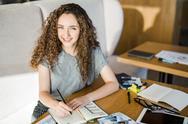 Creative female Stock Photos