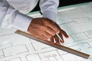 Sketch of construction Stock Photos