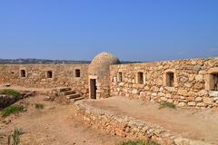 Rethymno Fortezza fortress Stock Photos