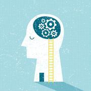 Imagination and Ideas Stock Illustration