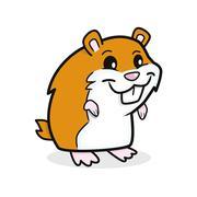 Cute Hamster Stock Illustration