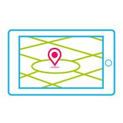 Satellite Navigation Stock Illustration
