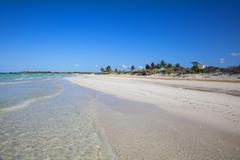 Playa Larga, Cayo Coco, Jardines del Rey, Ciego de Avila Province, Cuba, West Stock Photos