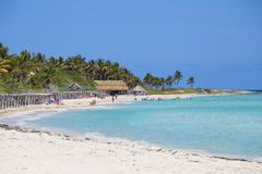 Playa Larga, Cayo Coco, Jardines del Rey, Ciego de Avila Province, Cuba, West Stock Photos
