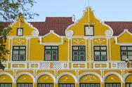 The Penha building, a former merchants house built in 1708, Punda, UNESCO World Stock Photos