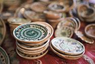 Horezu ceramics, a unique type of Romanian pottery, UNESCO Cultural Heritage Stock Photos