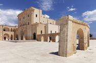 San Maria de Finibus Terrae pilgrimage church, Santa Maria di Leuca, Lecce Stock Photos