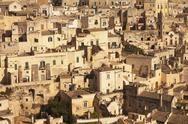 Cave dwellings, Sasso Barisano, UNESCO World Heritage Site, Matera, Basilicata, Stock Photos