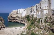 Polignano a Mare, Bari district, Puglia, Italy, Europe Stock Photos