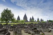 Prambanan Hindu temples, UNESCO World Heritage Site, near Yogyakarta, Java, Stock Photos