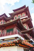Buddha Tooth Relic Temple, Chinatown, Singapore, Southeast Asia, Asia Stock Photos