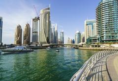 Dubai Marina, Dubai, United Arab Emirates, Middle East Kuvituskuvat