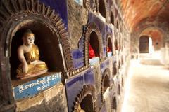 Shwe Yan Pyay Monestary, Nyaungshwe, Inle Lake, Myanamar (Burma), Asia Stock Photos