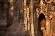 Kakku Pagoda Complex, Shan State, Myanmar (Burma), Asia Stock Photos