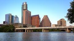 Austin, Texas Skyline Along the Colorado River Kuvituskuvat