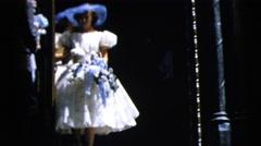 1962: vintage wedding party footage BOSTON Stock Footage