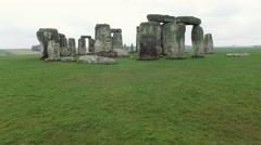 Stonehenge, England Arkistovideo