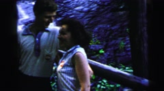 1964: a memory of a fantastic trip to an amazing nature landscape CAMDEN Stock Footage