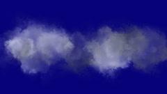 4k Cloud lightning gas background. Stock Footage