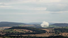 Buring Forest, Shropshire Hills Stock Footage