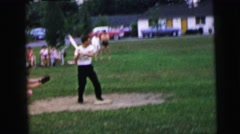 1964: the great baseball day CAMDEN, NEW JERSEY Stock Footage