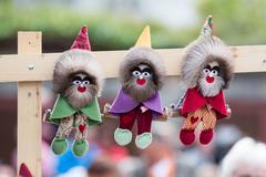 Figure toy of dwarf Stock Photos