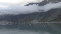 Alaska Glacier Bay Sea Ice Flow Stock Footage