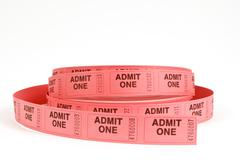 Admission Tickets Stock Photos