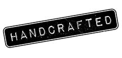 Handcrafted rubber stamp Stock Illustration