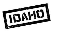 Idaho rubber stamp Stock Illustration