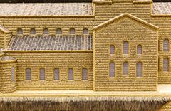 Wheat model church art Stock Photos