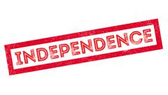 Independence rubber stamp Stock Illustration