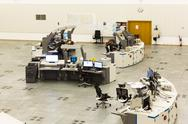 Air Traffic Services Authority control room Stock Photos