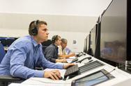 Air Traffic Services Authority controller Stock Photos