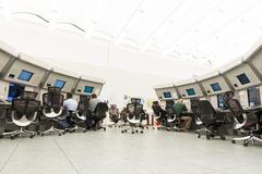 Air Traffic Services Authority control center Stock Photos