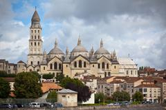 Saint Front cathedral in Perigord, France Stock Photos