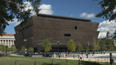 Museum of African American History and Culture, Washington, DC Stock Footage