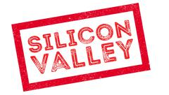 Silicon Valley rubber stamp Stock Illustration