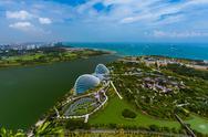 Park Gardens by the Bay - Singapore Stock Photos